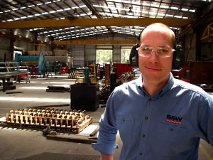 Ben Rolliston, Fabrication Manager